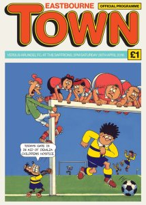 Eastbourne Town FC Matchday Programme