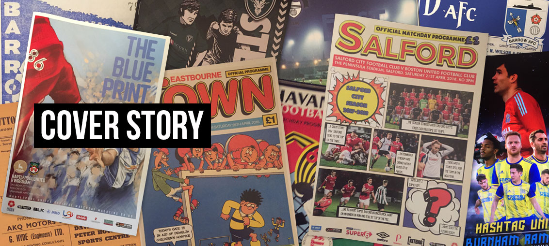 Matchday Programmes Cover Story