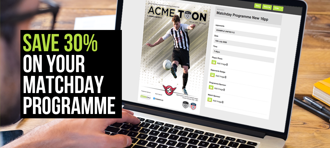 Save 30% on your Matchday Programme